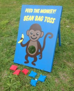 Monkey Bean Bag Toss