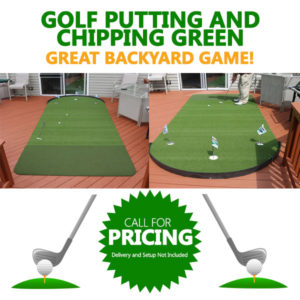 Golf Putting and Chipping Green