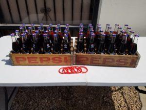 Classic Pepsi Bottle Ring Toss