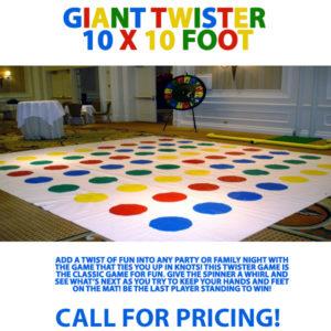 Giant Twister – 10 x 10